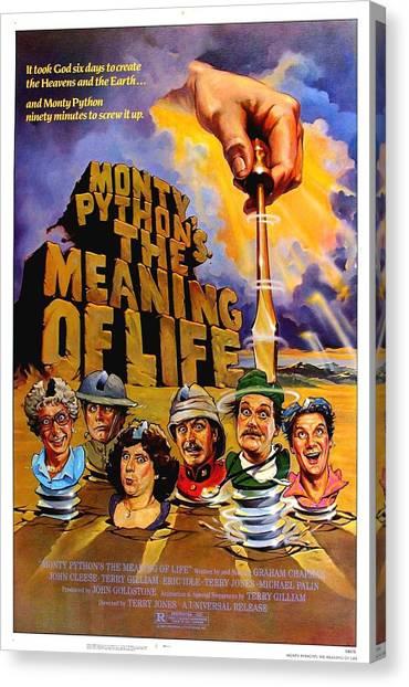 Pythons Canvas Print - Monty Python by Geek N Rock