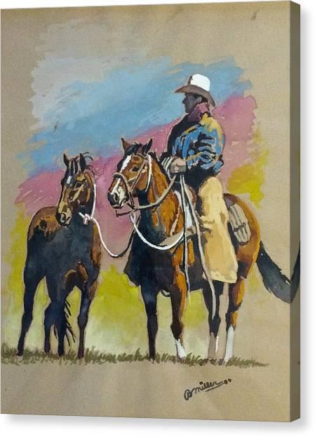 Monty Roberts Canvas Print