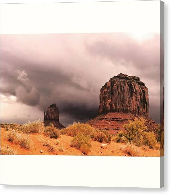 Scotty Canvas Print - Monument Valley 🙌👌 #photography by Scotty Brown