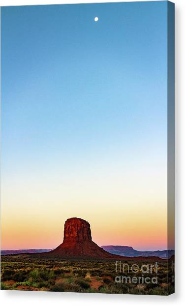 Monument Valley Morning Glory Canvas Print