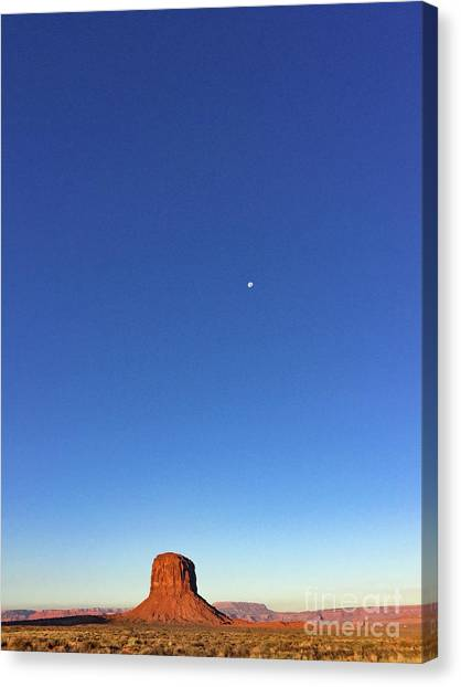 Monument Valley Morning View Canvas Print