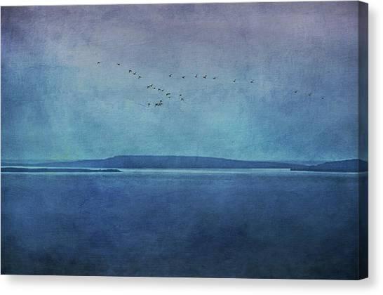 Moody  Blues - A Landscape Canvas Print