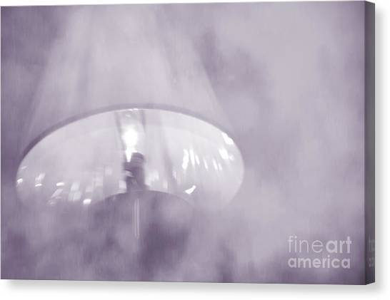Moody Light- Lavender  Canvas Print