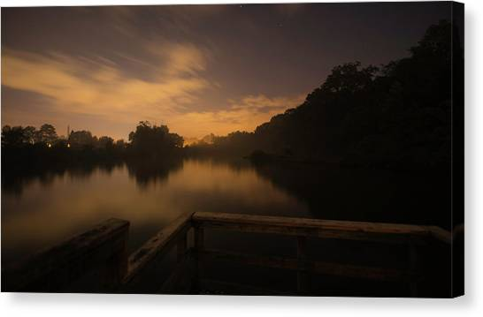 Moody View Canvas Print