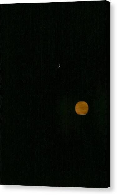 Moon And The Sun Canvas Print