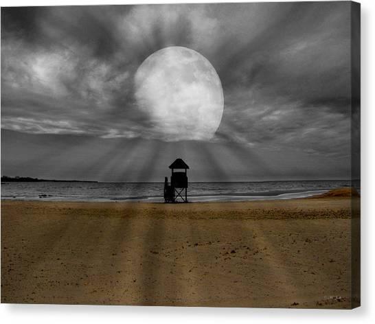 Moon Beams Canvas Print