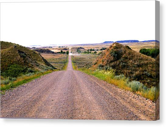 Moon Creek Heavy Traffic Canvas Print