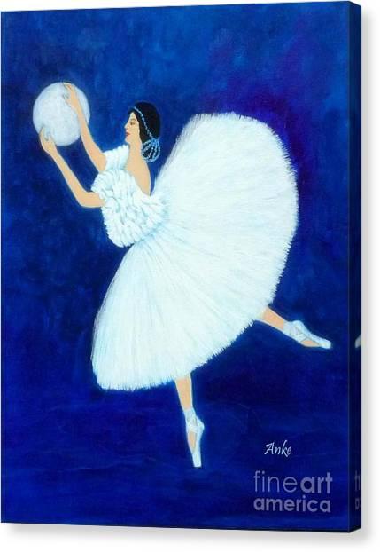 Moon Dancer Canvas Print by Anke Wheeler