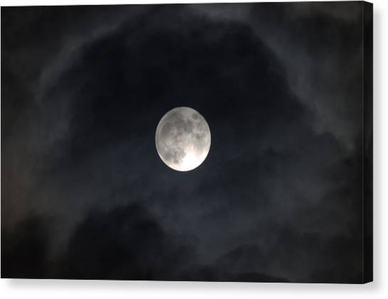Moon Eye Canvas Print