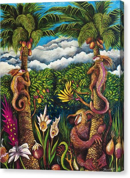 Moon Junga Canvas Print