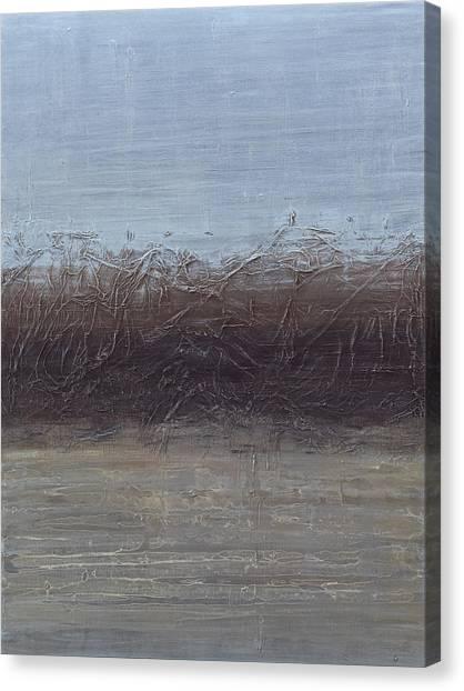 Moon Lake Canvas Print