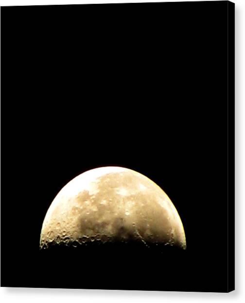 Moon Loop Canvas Print