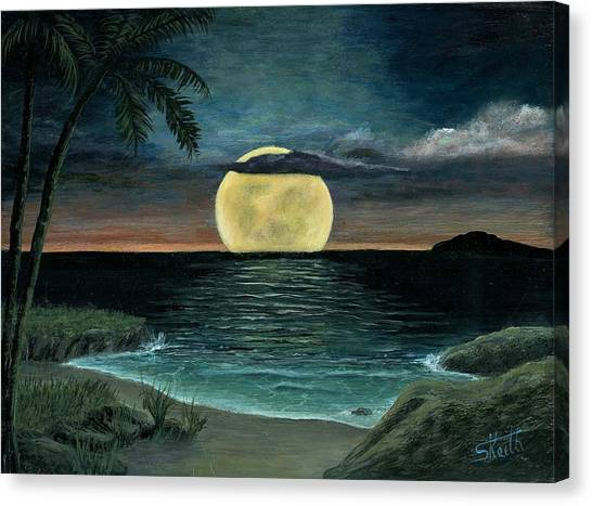 Moon Of My Dreams IIi Canvas Print