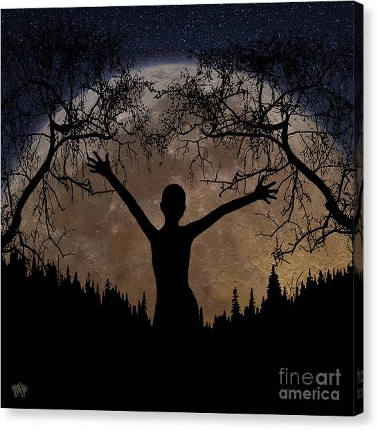 Moon Rising Canvas Print