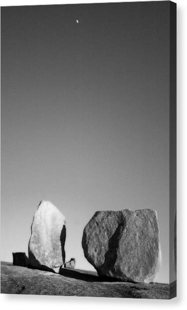 Moon Rocks Canvas Print by John Gusky