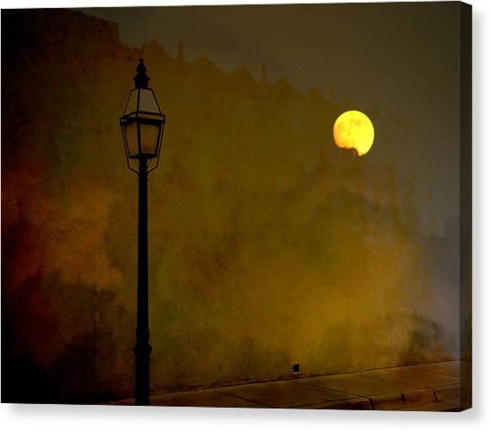 Moon Walker Canvas Print