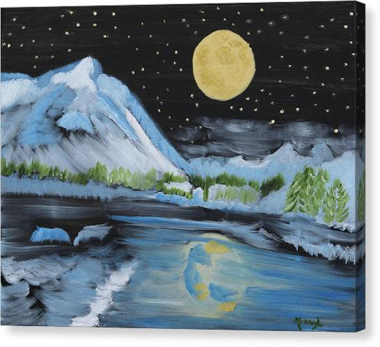 Moon Wishes Canvas Print