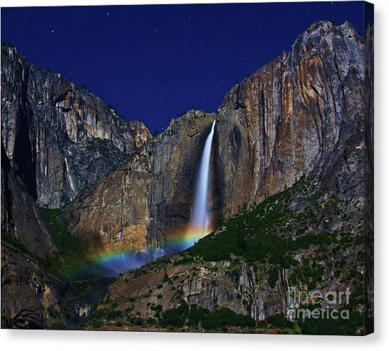 Moonbow Canvas Print