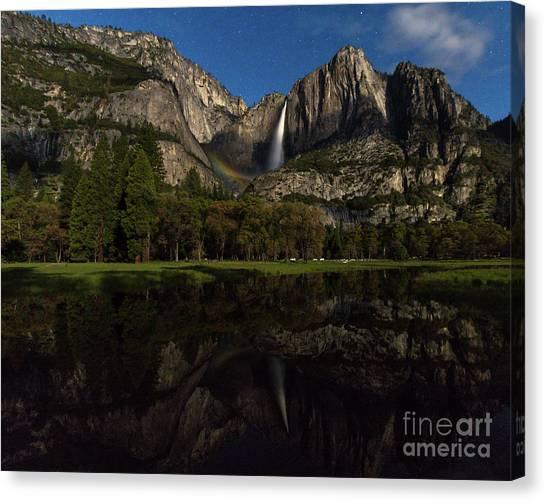 Moonbow Upper Falls Canvas Print