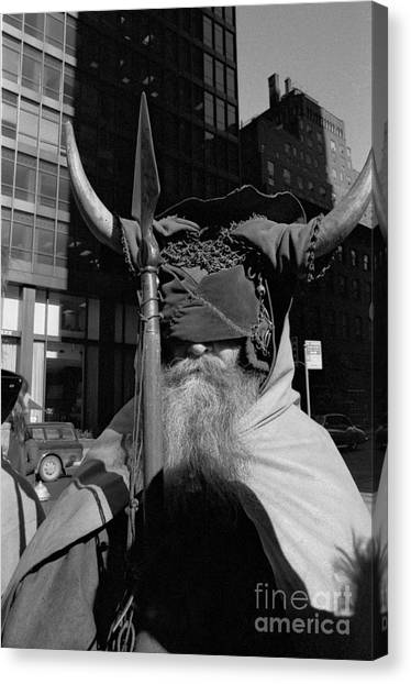 Moondog Nyc Tom Wurl Canvas Print