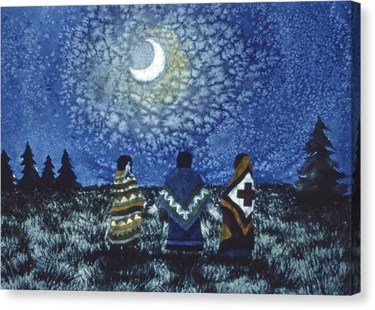Moonlight Counsel Canvas Print