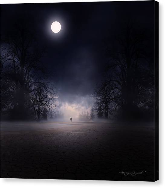 Moonlight Journey Canvas Print