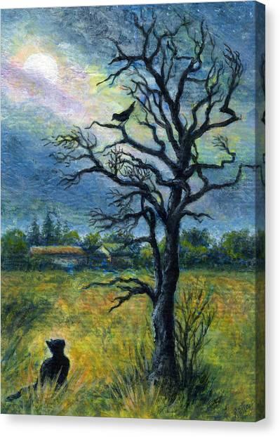 Moonlight Prowl Canvas Print