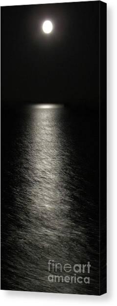 Moonlight Reflection Canvas Print