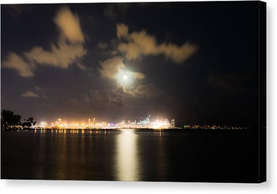 Moonlight Reflections Canvas Print
