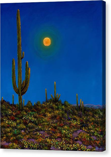 Moonlight Serenade Canvas Print by Johnathan Harris