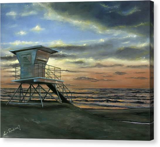 Moonlight Sunset Canvas Print