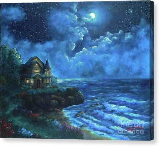 Moonlit Splendor Canvas Print