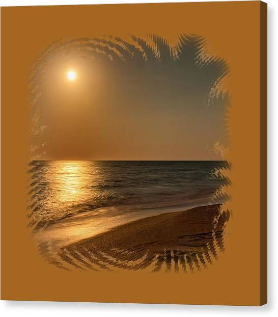 Moonscape 3 Canvas Print