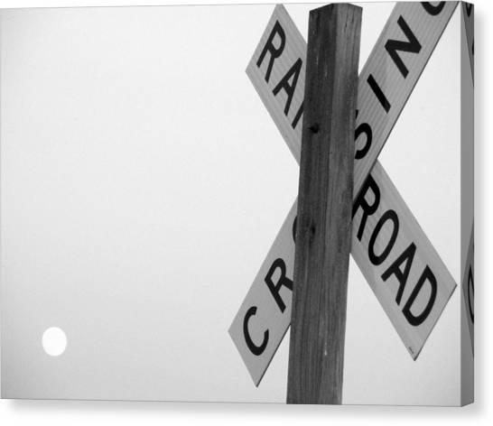 Moonshine Crossing Canvas Print