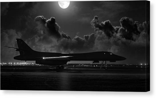 Cold War Canvas Print - Moonstruck by Peter Chilelli