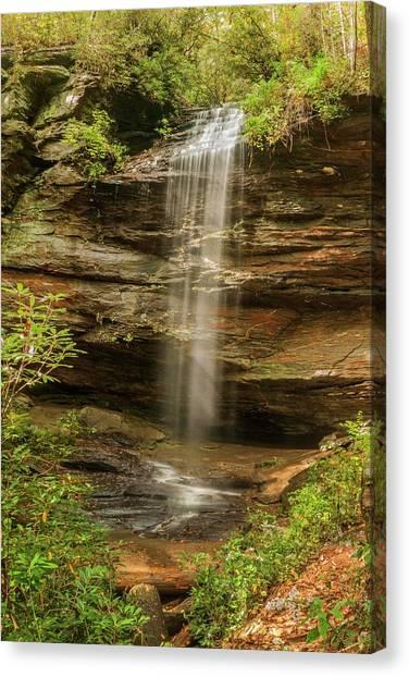 Moore Cove Falls Canvas Print