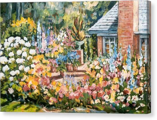 Moore's Garden Canvas Print