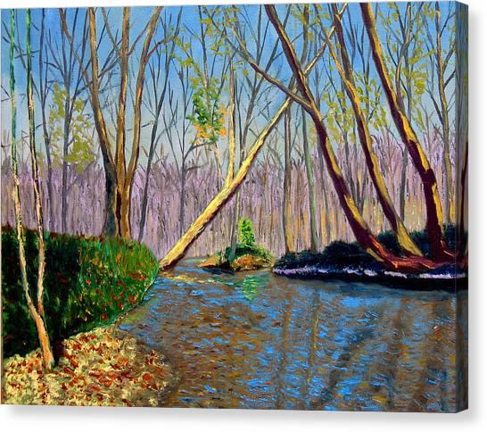 Mooresville November Canvas Print by Stan Hamilton