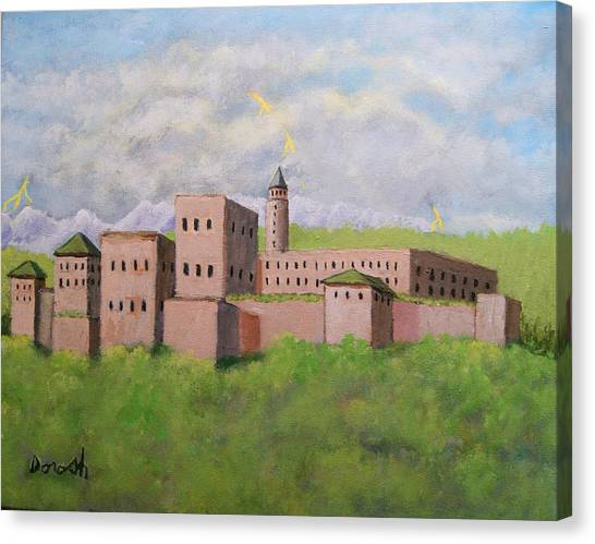 Moorish Palace Canvas Print