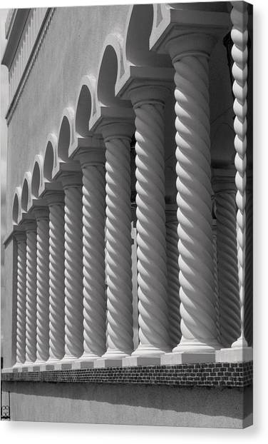 Moorish Pillars Spain Canvas Print by Douglas Pike