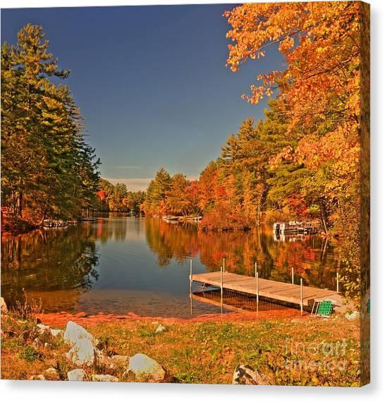 Moose Pond Canvas Print