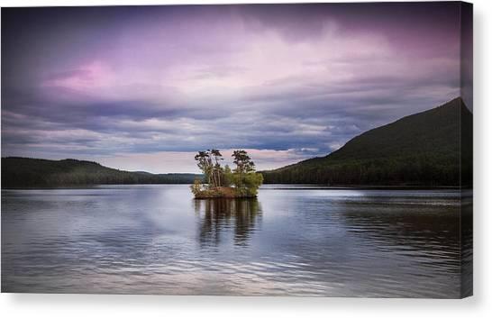 Moose Pond Maine Canvas Print