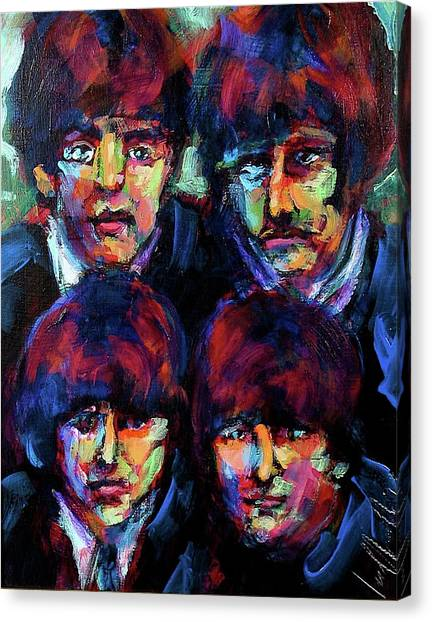 Mop Tops Canvas Print