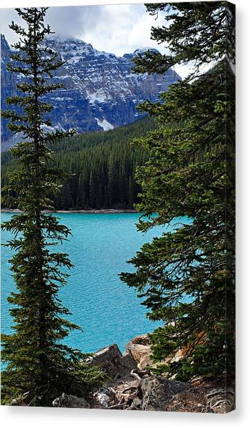 Moraine Lake 3 Canvas Print