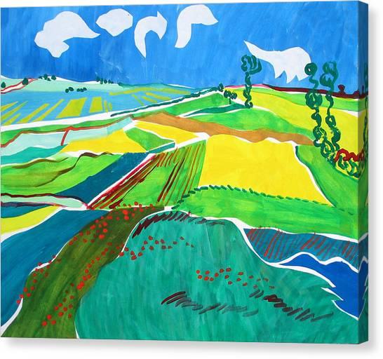 Moravian Landscape Canvas Print by Vitali Komarov