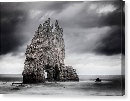 Rock Canvas Print - Mordor by Evgeni Dinev