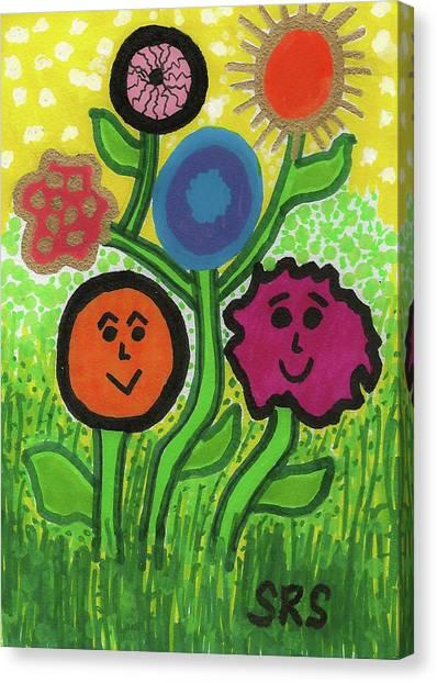 More Happy Days Canvas Print