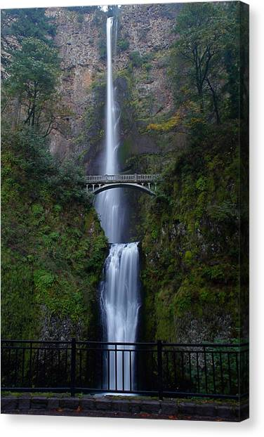 More Multnomah Falls Canvas Print