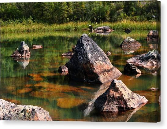 More Pink Rocks Canvas Print