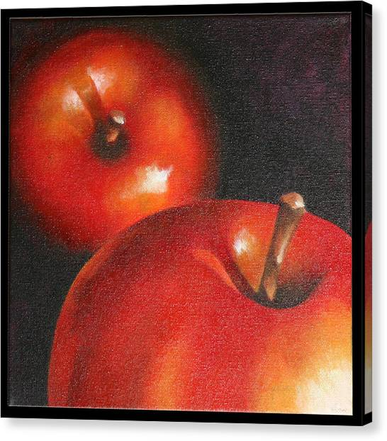 More Red Apples Canvas Print by Jose Romero
